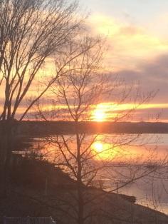 traverse sunset
