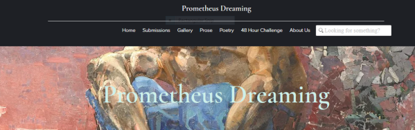 prometheus dreaming journal cover page